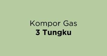 Kompor Gas 3 Tungku