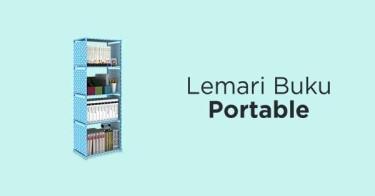 Lemari Buku Portable