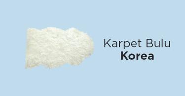 Karpet Bulu Korea