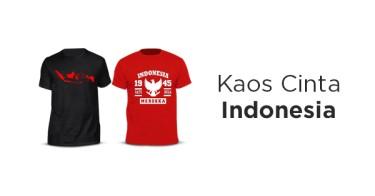 Kaos Cinta Indonesia