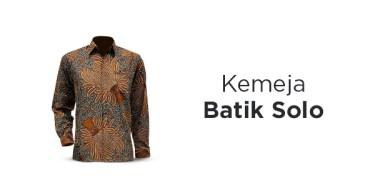 Jual Kemeja Batik Solo dengan Harga Terbaik dan Terlengkap