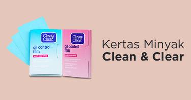 Kertas Minyak Clean & Clear