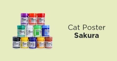 Cat Poster Sakura