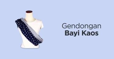 Gendongan Bayi Kaos