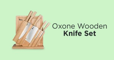 Oxone Wooden Knife Set