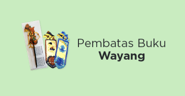 Pembatas Buku Wayang