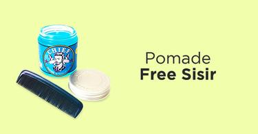 Pomade Free Sisir