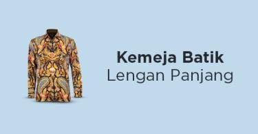 Kemeja Batik Lengan Panjang