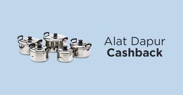Alat Dapur Cashback