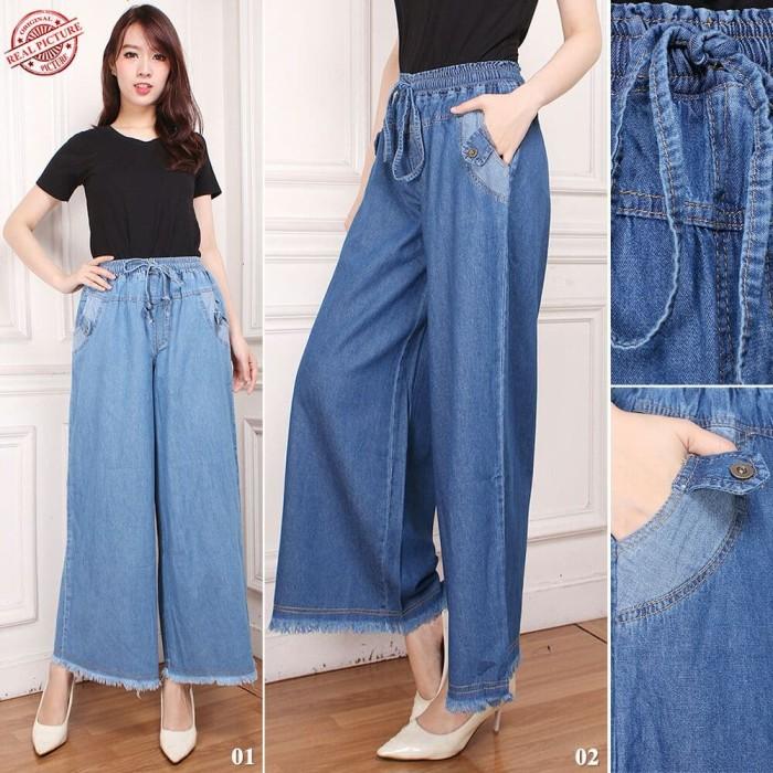 jumbo long pant Syela. Source · SB Collection Celana Panjang Cindy Kulot .