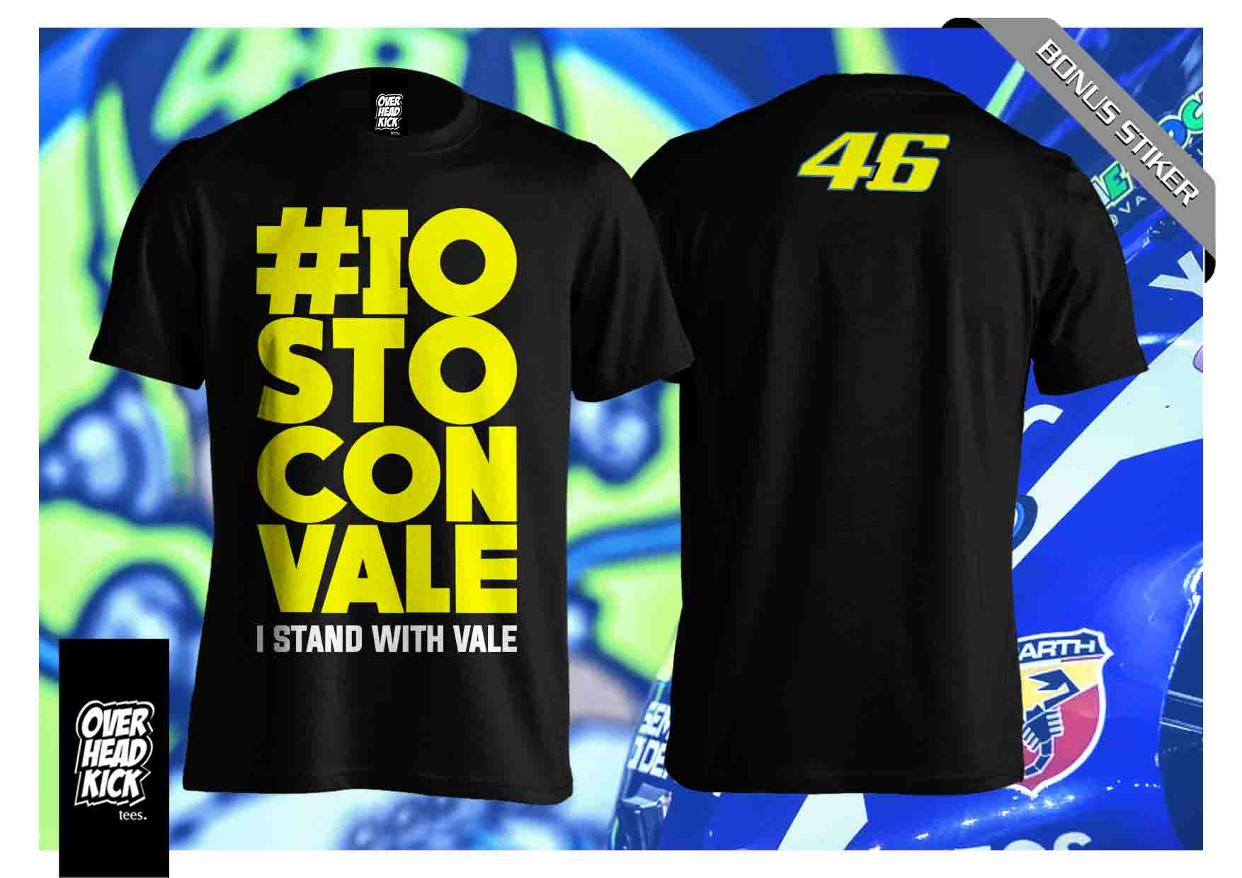 Best Seller Kaos Valentino Rossi Hitam Vale 46 The Doctor Vr46 Valen T Shirt Distro Racer Tino Motogp Race Page