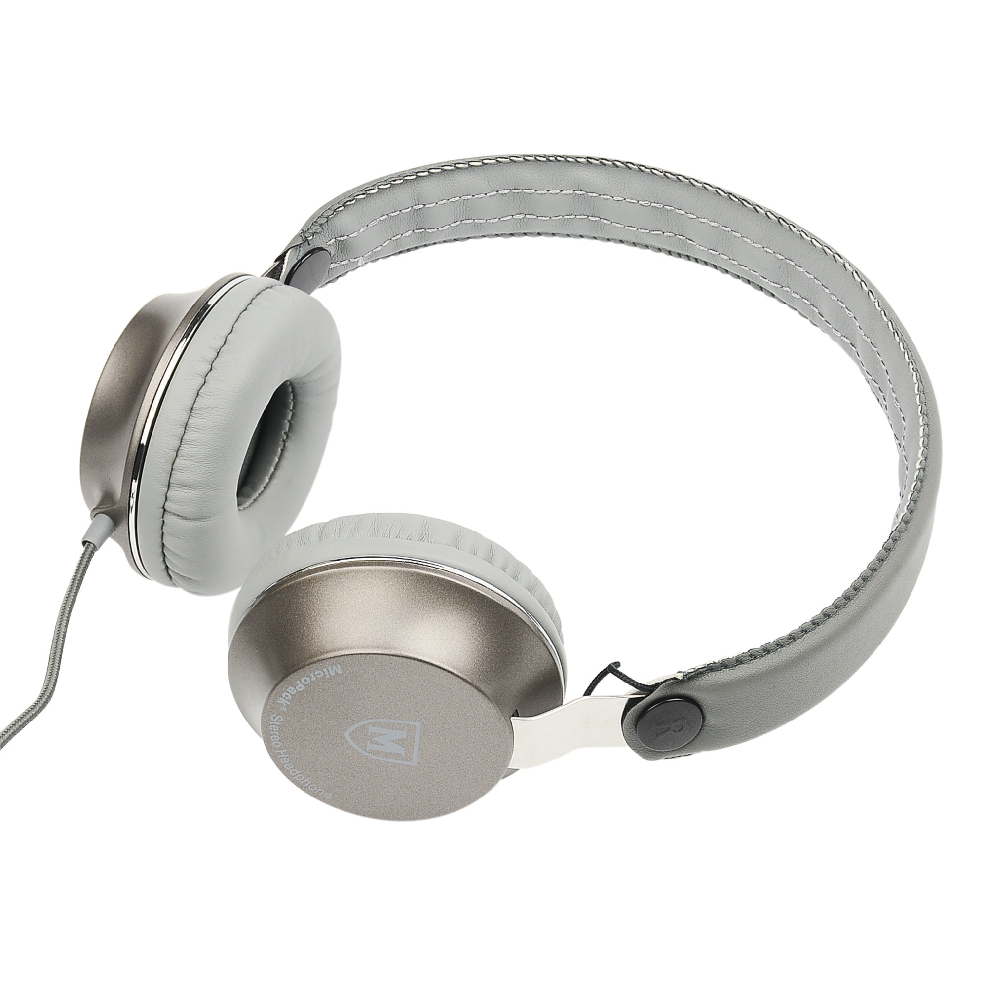 Jual Micropack Headphone W Mic Mhp 510 White Mouse Double Lens Mp Y212r Black Grey