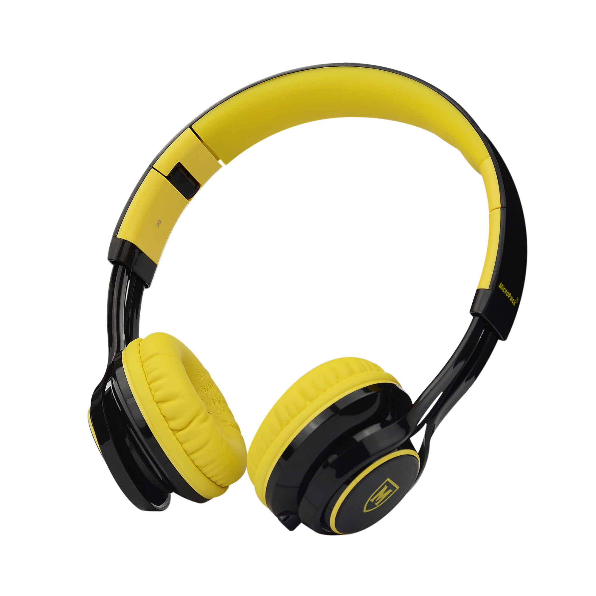 Jual Micropack Headphone W Mic Mhp 500 Yellow Mouse Double Lens Mp Y212r Black Grey