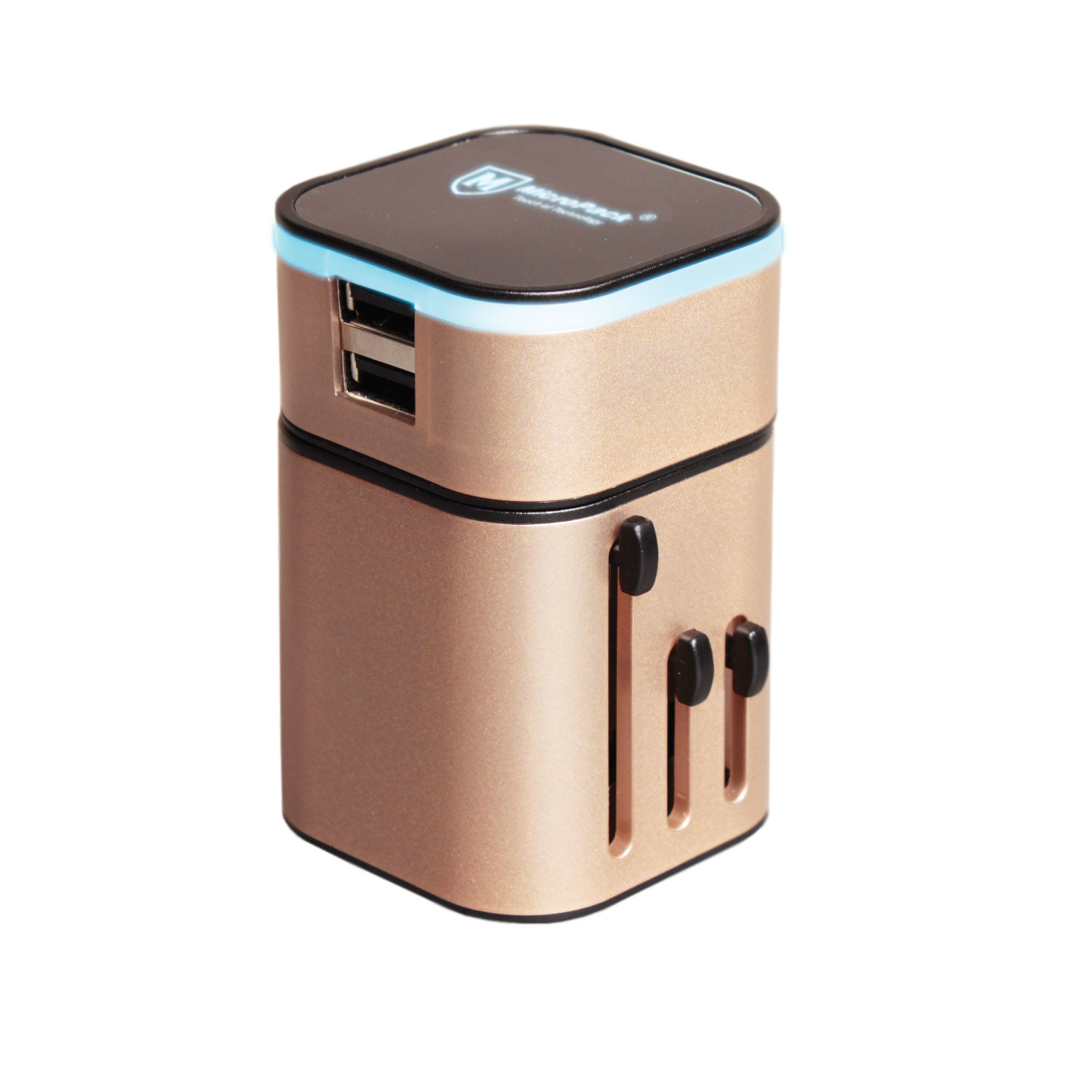 Travel Micropack Tc - 232 Adapter 2 Usb Cherger 3.2a - Blanja.com