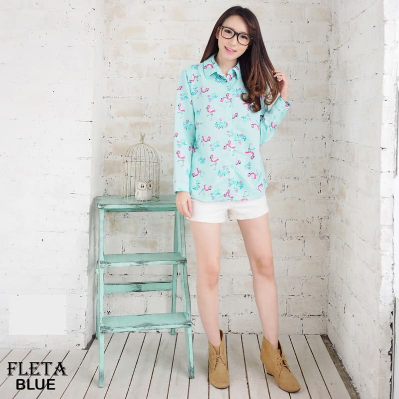 FLETA TOP - Atasan Blouse Wanita / Baju Wanita - Blanja.com